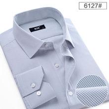 hombres de negocios de rayas camisa