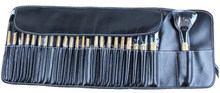 24pc Professional Cosmetic Makeup Make up Brush Brushes Set Kit With black Bag Case