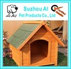 New Wood Extra Large Breed House Raised Floor Waterproof Wooden Dog House