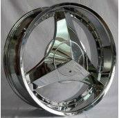 chrome wheels of alloy