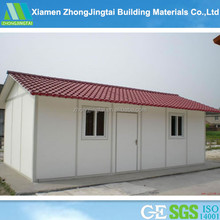 ZJT manufacture ready made total modular home container prefab house materials