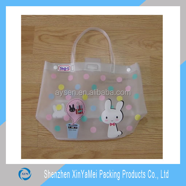 Новое прибытие модные пластиковые ясно пвх пляжная сумка оптом