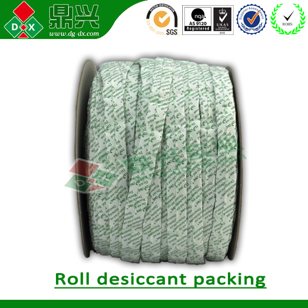 Silica gel roll desiccant packing