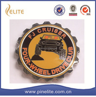 2015 newest factory custom imitation hard enamel car emblem for sale