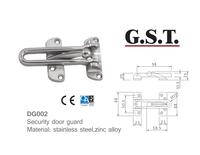 304 Stainless Steel Security Door Guard
