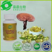 high quality herb supplements ganoderma lucidum extract powder softgel