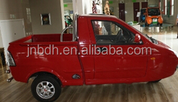 Mini three wheel pickup truck with EEC certification fashionable design