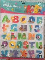 Kids Glitter 3D Alphabet Letter Wall Stickers