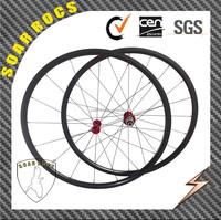 SoarRocs only 1010g Chines carbon wheels road bike wheels super light wheels 24mm tubular wheelset