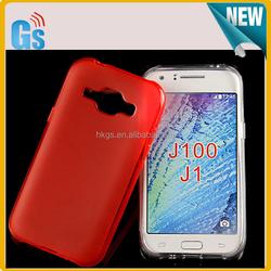 Pudding Gel Soft Gel Cell Phone Case Cover For Samsung Galaxy J1 SM-J100F J100F J100