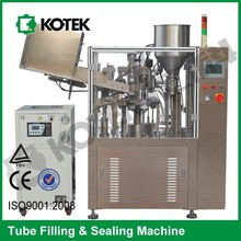 Automatic Plastic Tube Filler And Sealer Tooth Paste Filling Machine