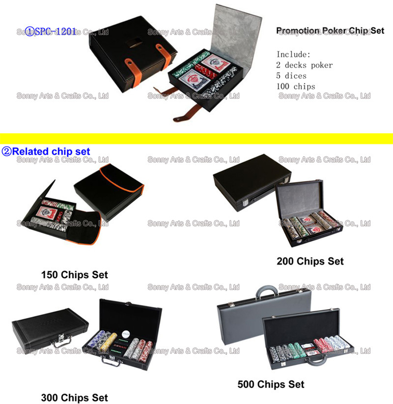 Promotion Poker Chip Set