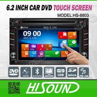 6.2 inch autoradio gps 2 din car dvd player