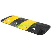 Black & Yellow Portable Rubber Road Arrow Speed Bump