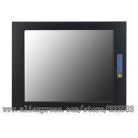 15 inch industrial embedded touch display, support Win 7; Win 8; LINUX; DOS; NT system, display manufacturers