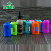 With metal Carabiner ejuice bottles silicone case/skin for e-cigarette / e-liquid Silicon Rubber Case