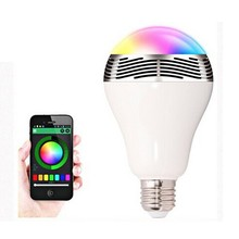 Wireless E27 LED Warm Color lamp Bluetooth Music Playing Lighting Bulb