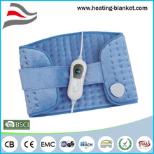 CE GS Auto off After 90 Mins Cosy Fleece 100W Electric Back Heat Wrap
