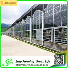 De aluminio de efecto invernadero gutter utilizado para agricture