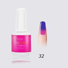 color change gel polish 42 different colors