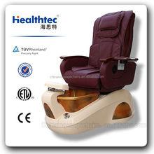 Power Drain auto seat forward/backward pedicure chair