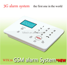 The Best Touch LCD GSM Alarm Systems, user friendly design and inBuilt 12 languages special for different countries