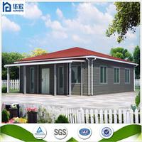 Modern design fast construction steel frame prefabricated houses in Ghana