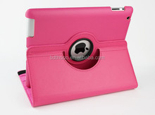 elegant design soft feeling 360 degree rotate for ipad case