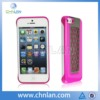 New style PC metal armour case for iphone 5s custom metal phone case