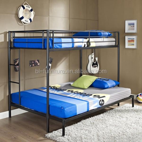 Heavy Duty Metal Bunk Bed iron bedroom Furniture Metal