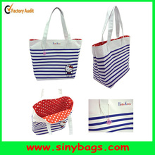 Custom tote bag/leather handbag/women shoulder bag