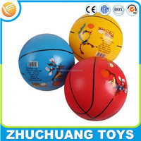 wholesale cheap pvc custom print kings sport toys basketball ball