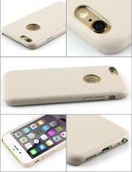 Slim PU Leather Soft Back Case Cover For Apple iPhone 6 4.7""