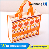 Eco Friendly Recyclable Aluminum Foil PP Nonwoven Shopping Bag