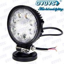 12V Hot Electric Offroad Auto LED Work Light 24W For ATV Cars Bus