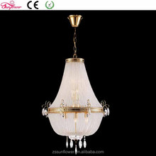 moroccan lighting white swan ,iron crystal chandelier raindrop, hanging light