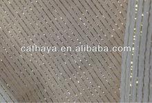 METALLIC SILK STRIPE GOLD,crinkle georgette with metallic golden stripe
