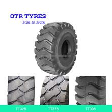 23.50-25-24PR off the road bias OTR inner tube tires for scraper & dumper factory price