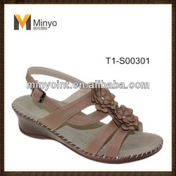 Minyo Latest design China wholesale women sandals shoes summer 2014