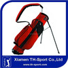 Single Strap Red Half Golf Stand Carry Bag