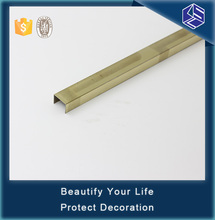 Decorative building material tile trim high quality stainless steel tile trim