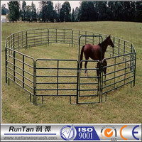 High quality Portable metal fencing cattle fence ( factory ,ISO 9001 Certificate )