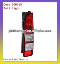 toyota hiace parts tail lights #000315 tail light L/R Hiace 2005 taillamp tali lights for hiace