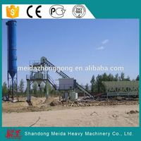 HZS60 concrete batch plant/concrete planting machine