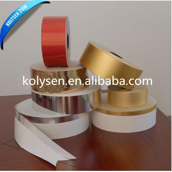 Feuille d'aluminium papier couché