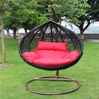 indoor funiture outdoor furniture rattan swing chair for selling