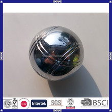 China manufacture directly selling metal bocce ball