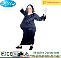 DJ-CO-214 Outdoor Arab women inflatable Pregnant woman costume jumpsuit