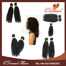 cheap kinky curl indian /brazilian human hair half hand tied lace front wig for black women