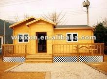 luxury prefab wooden house